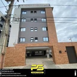 Flat com 1 dormitório à venda, 38 m² por R$ 220.000 - Intermares - Cabedelo/PB