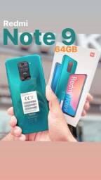 Redmi Note 9 - 64GB PROMOÇÃO !!! Lacrado Global