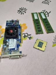 MEMORIA DDR3 4GB, PLACA DE VIDEO AMD 1GB, PROCESSADOR  CORE 5 3 GERAÇÃO