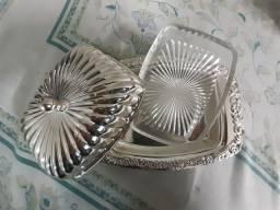 Mantegueira banhada em prata