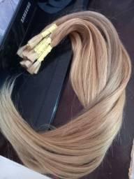 cabelo humano brasileiro 70cm 100g