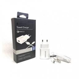 carregador  samsung travel charger qualcomm 3.0