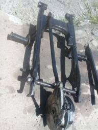 Vendo peças de moto usadas