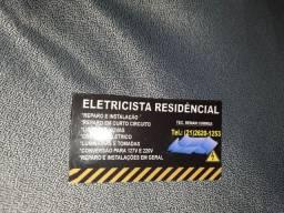 Eletricista residencial