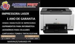 impressora hp Laser colorida cp1025