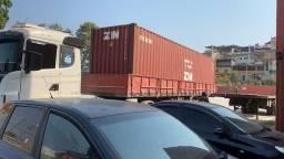 Container, transporte temos parceria a depender do local