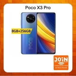 SmartPhone Poco X3 Pro R$2100 Frost Blue 8Gb RAM 256Gb ROM