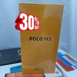 Magnífico! POCO M3 da Xiaomi.. Novo Lacrado com Pronta Entrega