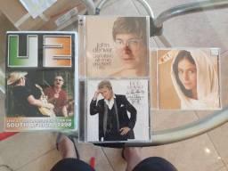 CDs e DVD Pop Rock Internacional e O Clone Nacional