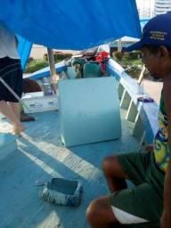 Barco de pesca de alto-mar, reformado total recentemente - 2002