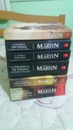 Vendo livros Game Of Thrones