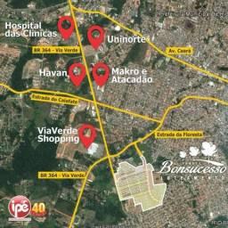 Em Rio Branco/AC: terrenos parcelados próximo ao Via Verde Shopping e Universidades