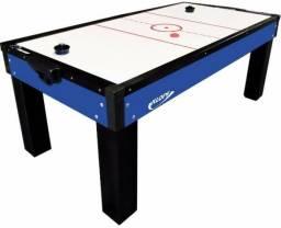 Mesa De Aero Hockey Air Game C/ Rebatedores E Disco 1045