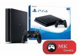 PS4 Slim 500gb e 1TB + 5 Jogos Brinde - Loja Física
