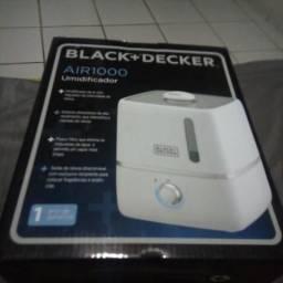 Umidificador Ultrassônico Black Deck novo