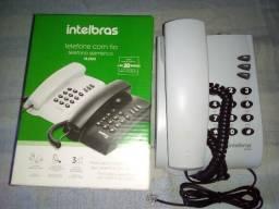 Telefone com Fio Intelbras Novo, 60 reais