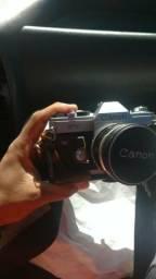 Máquina Fotográfica para colecionador. Mais lente