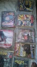 Vendo coleção de revistas de games