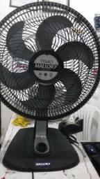Ventilador Mallory grande de 40 cm vento muito forte silencioso