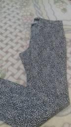 Calça animal print da marca zara tamanho 40