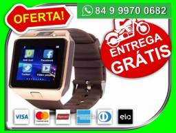 Relogio Celular Smartwatch Gt-08 Chip motoboy de graça