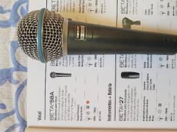 BETA*58A - Shure Microfone Para Vocal