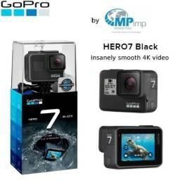 Gopro Hero 7 Black é na Marketplace Imports! Loja Física! Preço pra acabar!! opção 12x