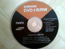 DVD Samsung Nero Express 6 - Original
