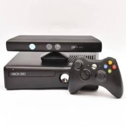 Xbox 360 + Kinect + 1 controle