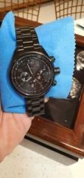 Relógio FOSSIL Flight Cronógrafo Steel Black FCH2803
