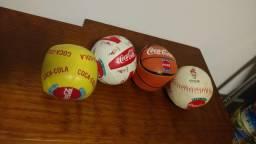 Coleção mini bolas Coca Cola Olimpíadas de Atlanta 1996 981ac58f00c0f