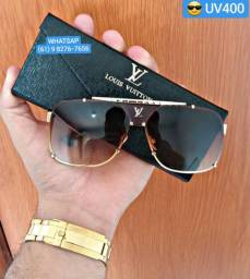 Óculos Masculino Lentes UV400 Polarizadas acompanha Case e Flanela da Marca c05b673554