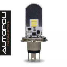 Lâmpada H4 LED Autopoli (Carro/moto/caminhão)