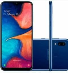 Samsung A20 com uma semana de uso 750.00