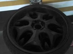 Jogo de rodas 22 com pneu novo
