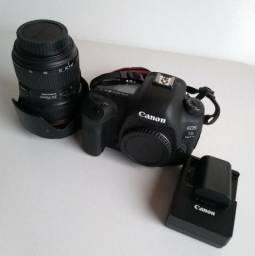 Canon EOS 5D mark iv +bateria+carregador+ cds +lente EF 24.70L II F 2.8
