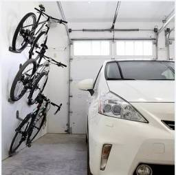 Suporte horizontal para bicicleta de parede