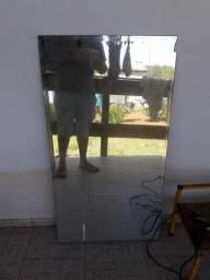 Espelho cabelereiro barbeiro 105x60