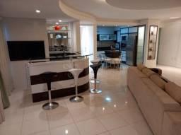 mobiliado, 1 suite mais 2 demi-suites com 2 vagas na Quadra do Mar na Barra Sul, Balneário