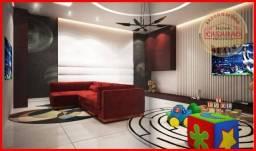 Apartamento com 2 dormitórios à venda, 68 m² por R$ 370.000 - Caiçara - Praia Grande/SP