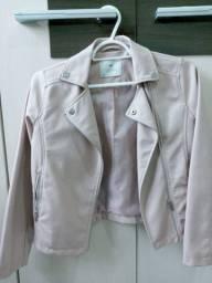Jaqueta de couro ecológica
