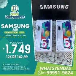 Samsung Galaxy A51 ( 128GB ) PRETO/BRANCO - GARANTIA 1 ANO *(NOTA FISCAL)*