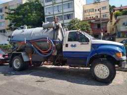 Caminhão Vacol (limpa fossa)