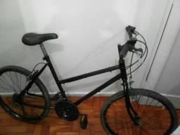Vendo bicicleta aro 24 de 21 marchas toda alinhada por apenas 230 reais.