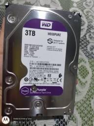 Placa de HD 3 tb WD  purple  $$70