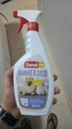 Vendo banho a seco Sanol