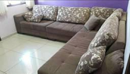 Lindo sofá de canto (perfeito estado)