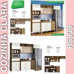 Armário de cozinha  armário d  cozinha clara -029404020