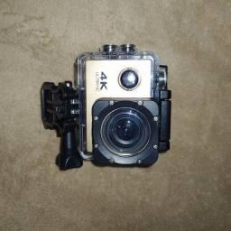 Câmera Gopro 4K + cartão de memória de 8 GB