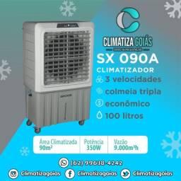Climatizador em 18x nos cartoes